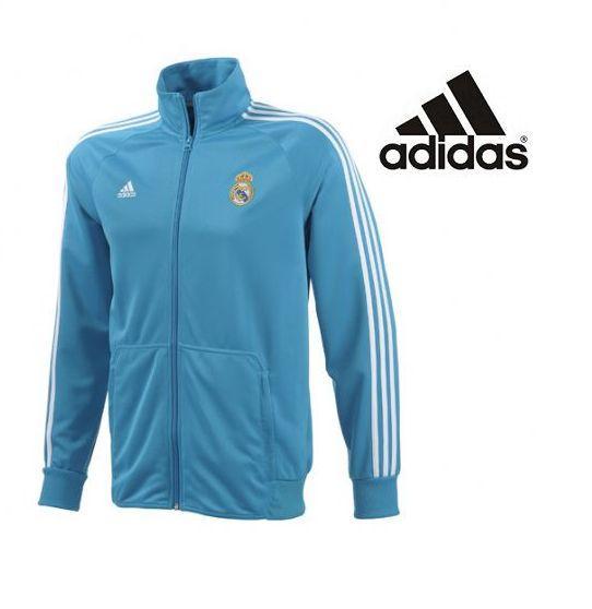 Foto Chaqueta sudadera del Real Madrid Adidas Azul 2013