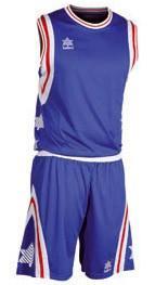 Foto Conjunto luanvi baloncesto pivot camiseta + pantalon equipacion