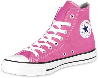 Foto Converse All Star Hi calzado rosa 41,5 EU 8,0 US