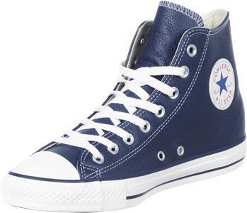 Foto Converse All Star Hi Leather calzado azul 39,5 EU 6,5 US
