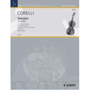 Foto Corelli, a.- sonata re menor op.5 n.12 ´´la folia´´ alard - viola y piano