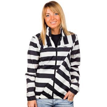 Foto Cortavientos adidasOriginals Striped Windbreaker - black/running white