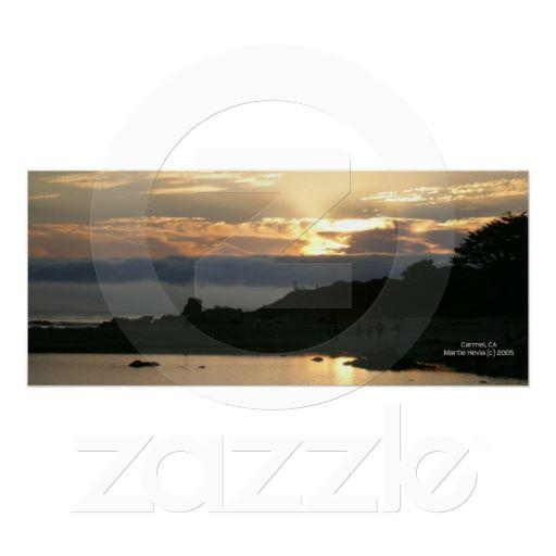 Foto Costa costa de California - puesta del sol de Carm