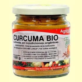 Foto Curcuma bio en polvo - vegetalia - 80 gramos