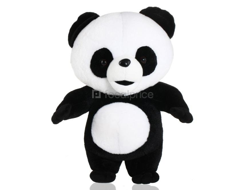 Foto Cute Panda Plush Toy Altura 40 cm