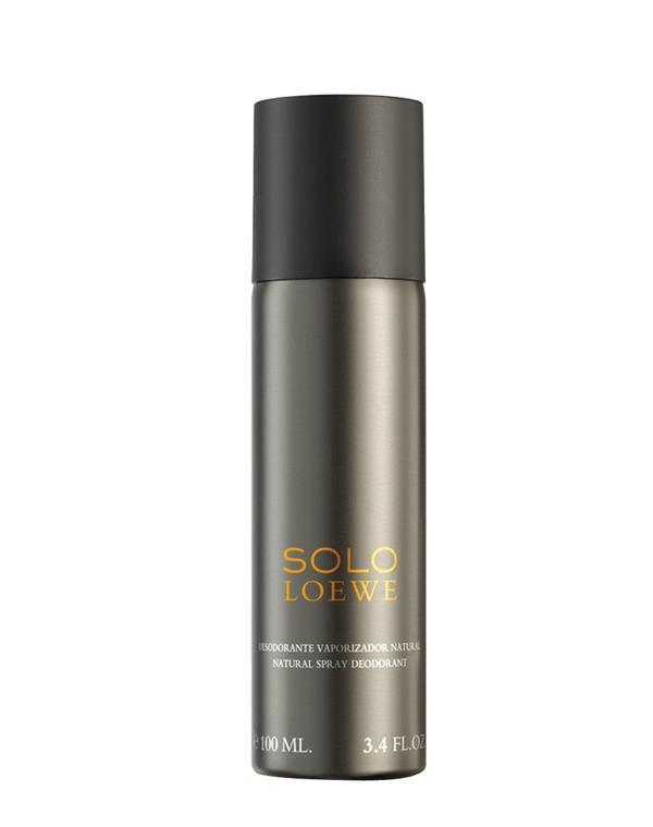 Foto Desodorante natural spray 100 ml Solo Loewe Desodorante spray Loewe