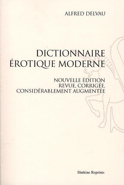 Foto Dictionnaire érotique moderne