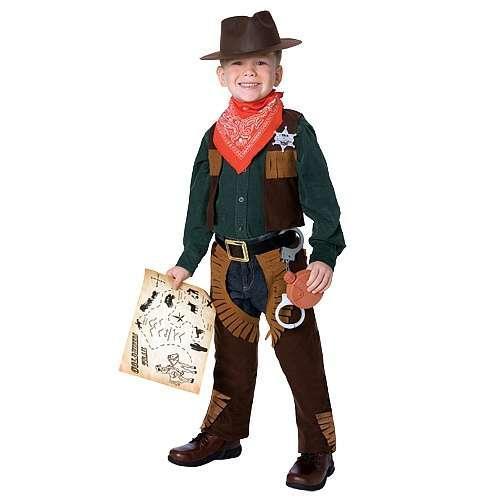 Foto Disfraz Cowboy Deluxe 3-4 años True Heroes