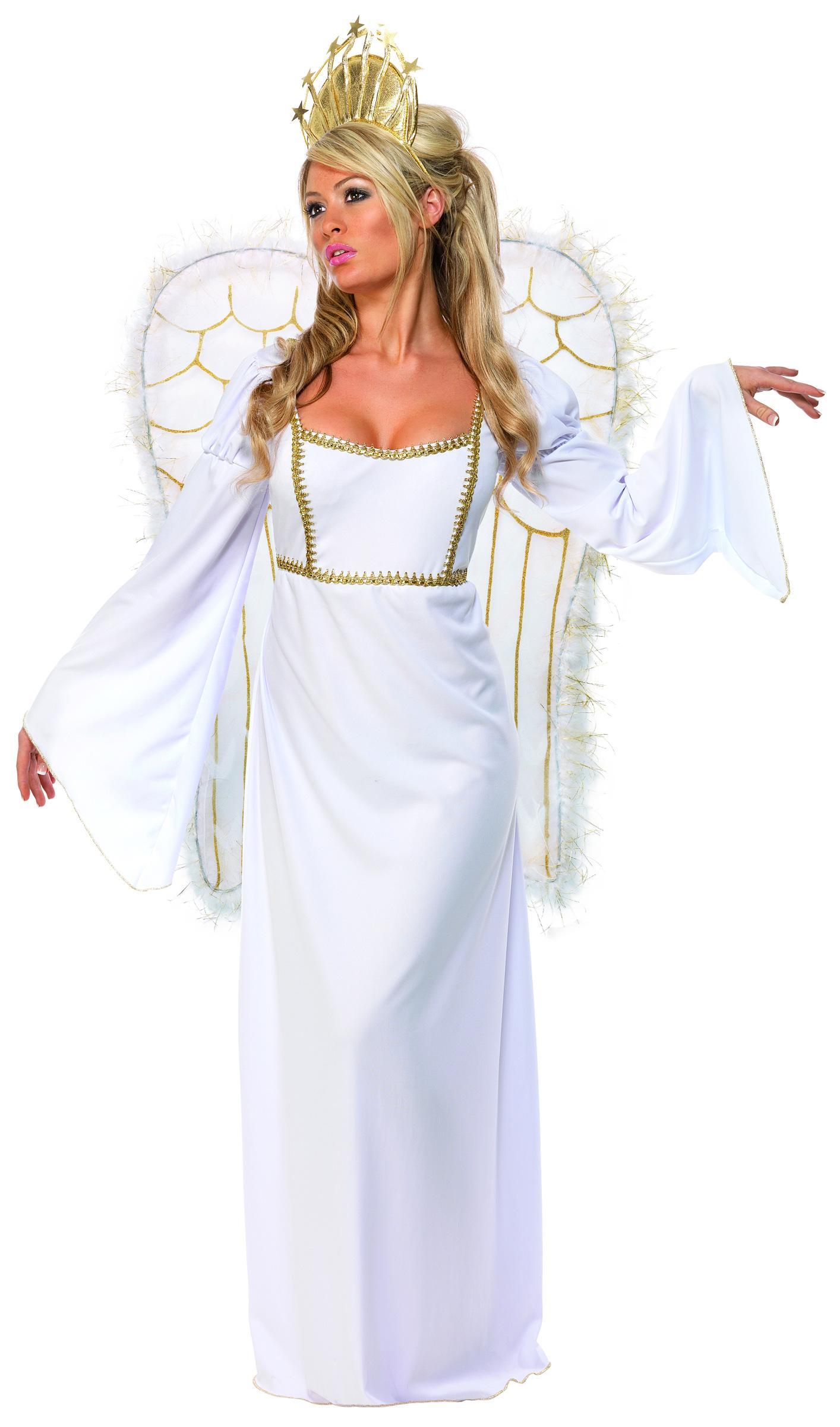 Foto Disfraz de ángel de Navidad para mujer