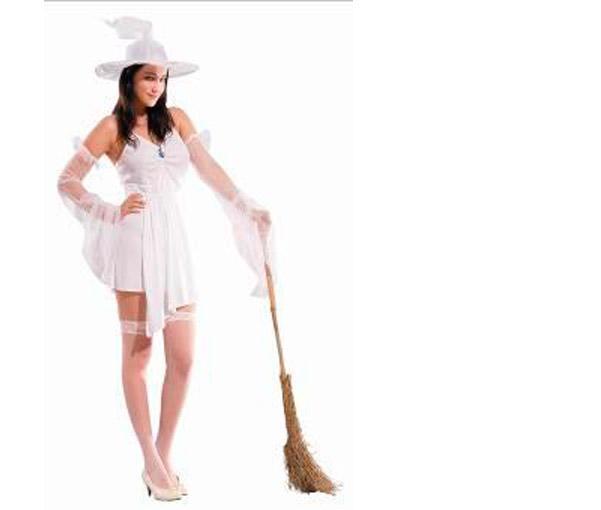 Foto Disfraz de Bruja Blanca