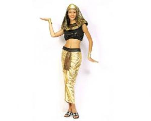 Foto Disfraz de Faraona Egipcia