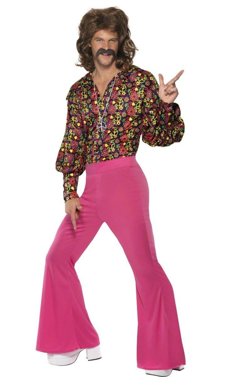 Foto Disfraz de hippie para hombre