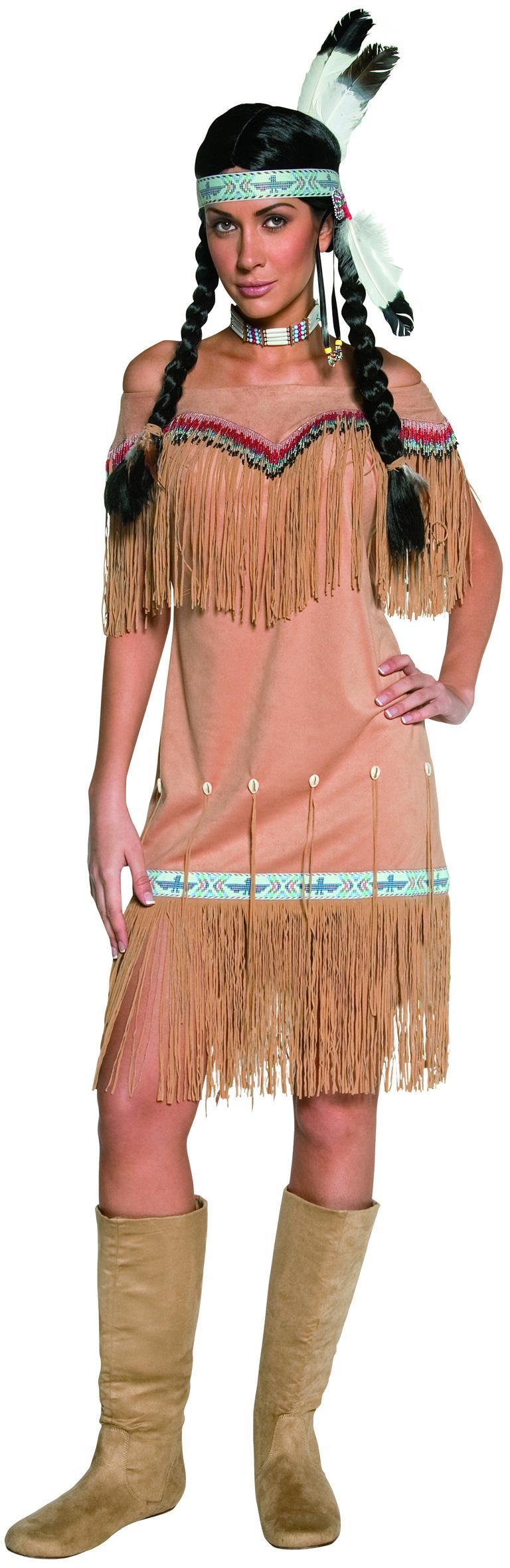 Foto Disfraz de india para mujer