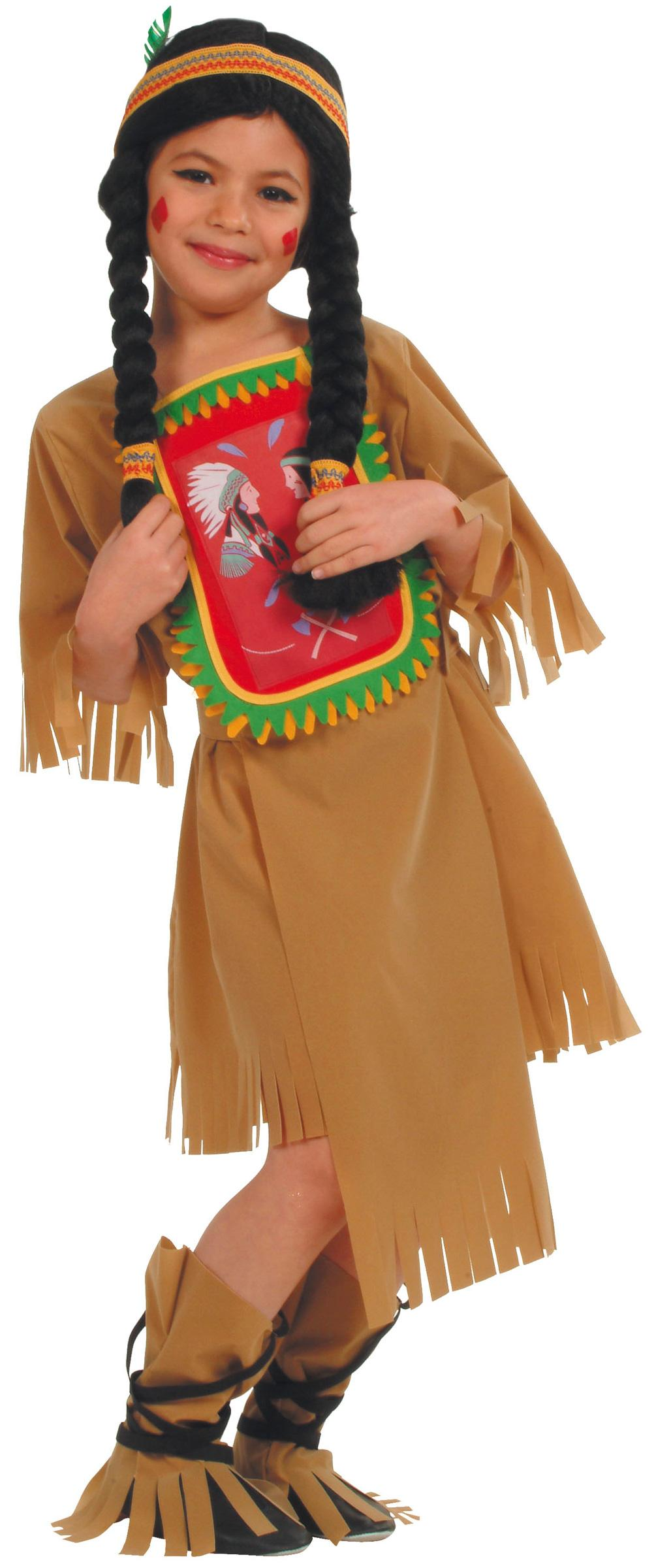Foto Disfraz de india sioux para niña