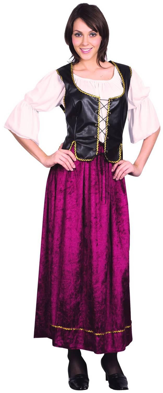 Foto Disfraz de mujer medieval