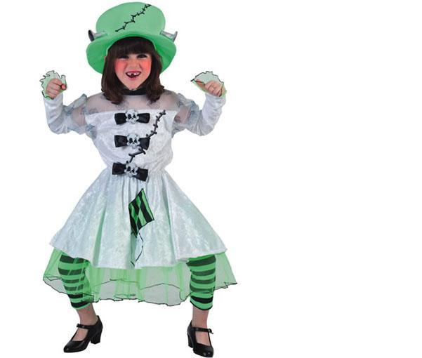 Foto Disfraz de Novia Frankenstein