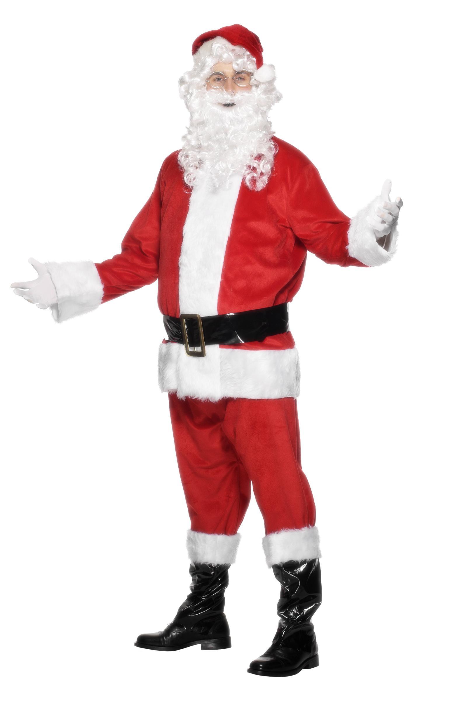 Foto Disfraz de Papá Noel para hombre
