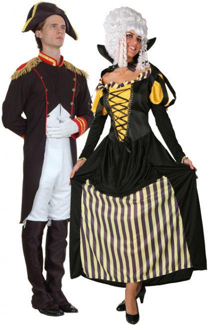 Foto Disfraz de pareja de emperador y emperatriz