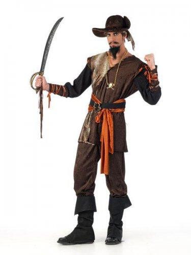 Foto Disfraz de pirata aventurero Talla M