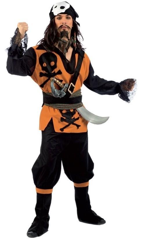 Foto Disfraz de Pirata Malvado Hombre