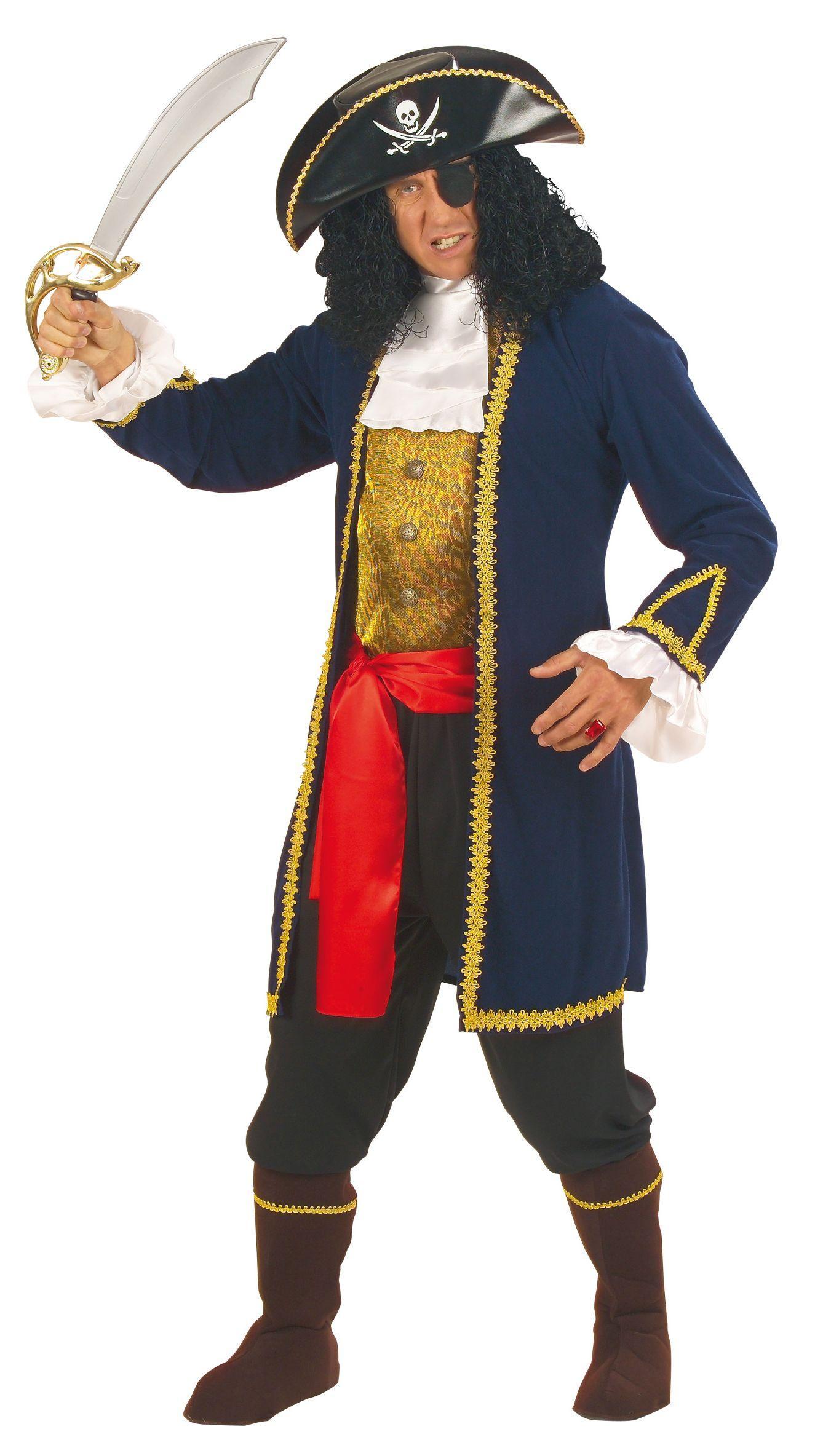 Foto Disfraz de pirata para hombre