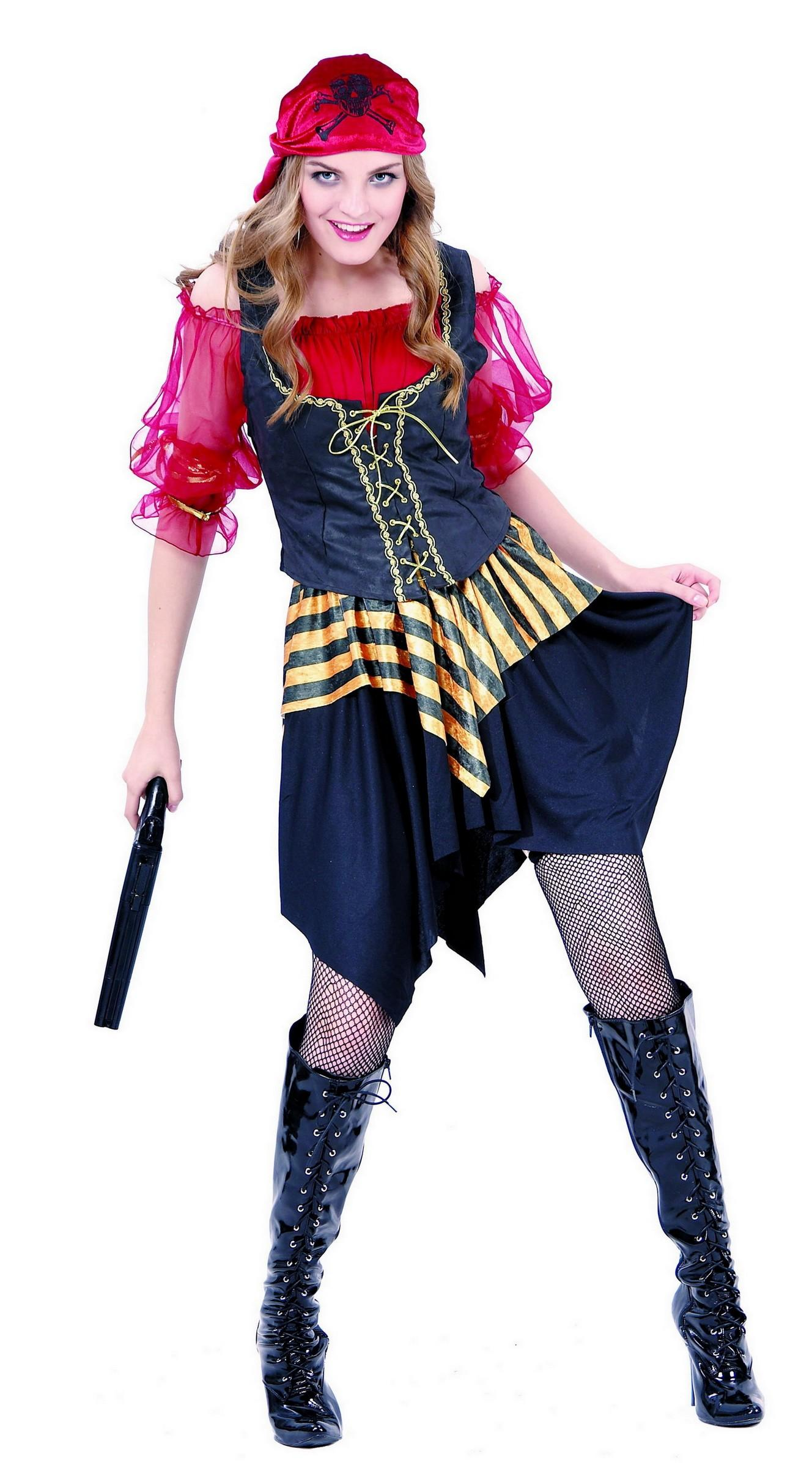 Foto Disfraz de pirata para mujer