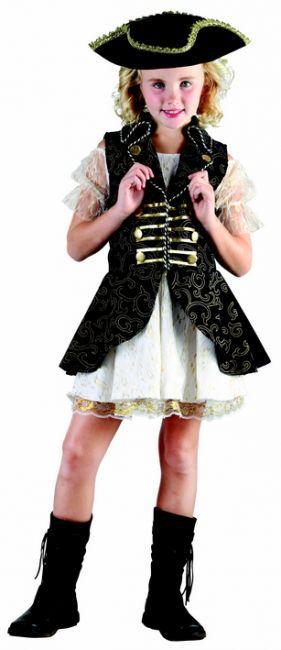 Foto Disfraz de pirata para niña