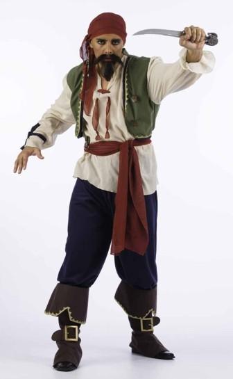 Foto Disfraz de Pirata Saqueador Adulto