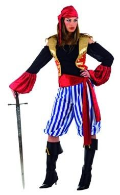 Foto Disfraz de Pirata Saqueadora Mujer Adulto