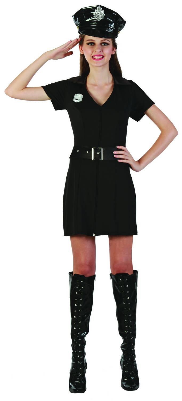 Foto Disfraz de policía femenino
