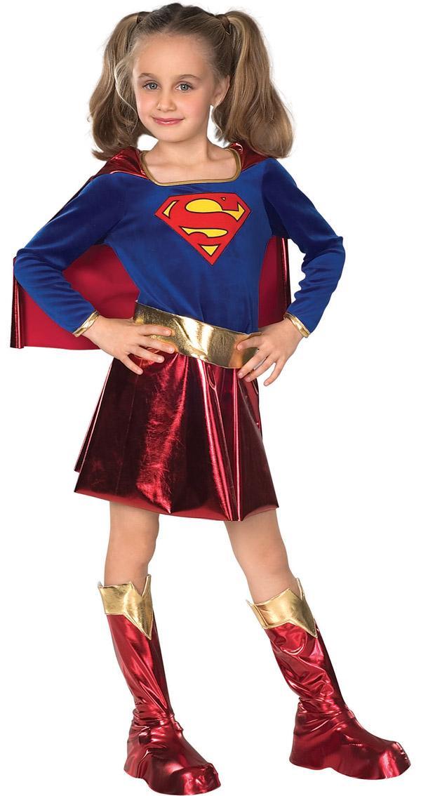Foto Disfraz de Supergirl TM para niña