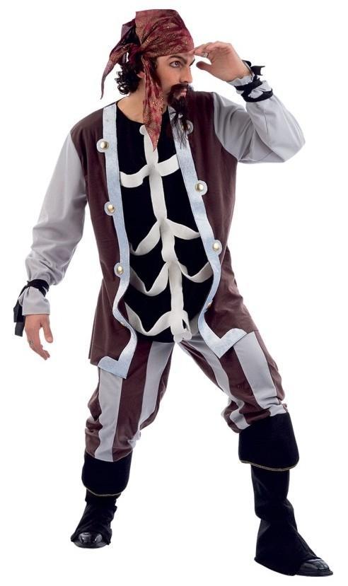 Foto Disfraz Pirata Capitán Garfio Hombre