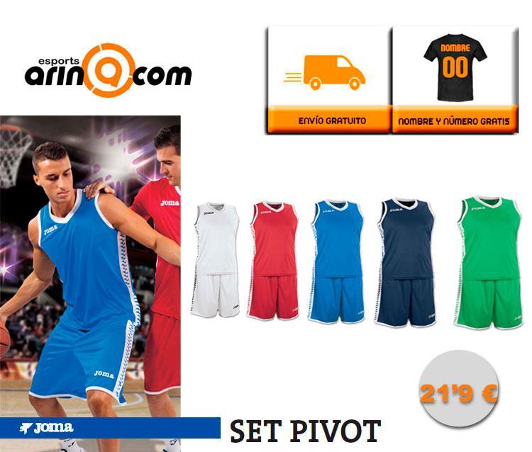 Foto Equipación Baloncesto JOMA SET PIVOT hombre - Envio 24h