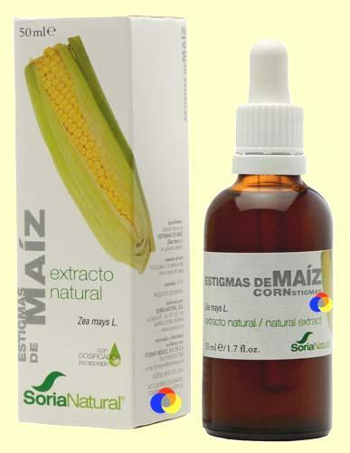 Foto Estigmas de Maíz - Extracto de Glicerina Vegetal - Soria Natural - 50 ml