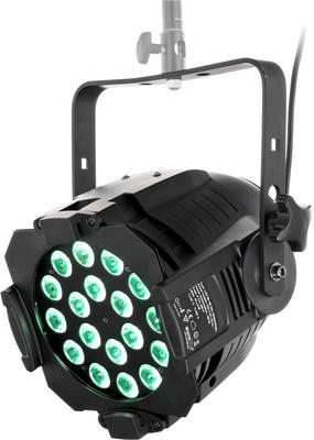 Foto Eurolite LED ML-56 QCL RGBW/RGBA 18x8 B