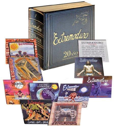 Foto Extremoduro: 20 Años. Discografia Completa