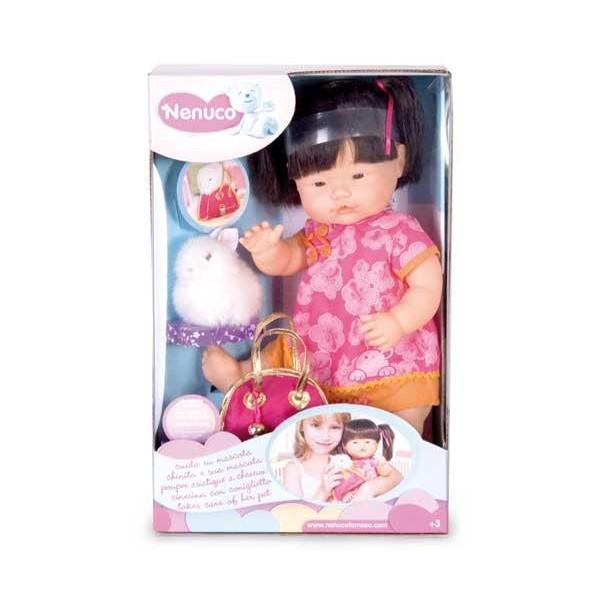 Foto Famosa muñeca nenuco niña asiática con pelo