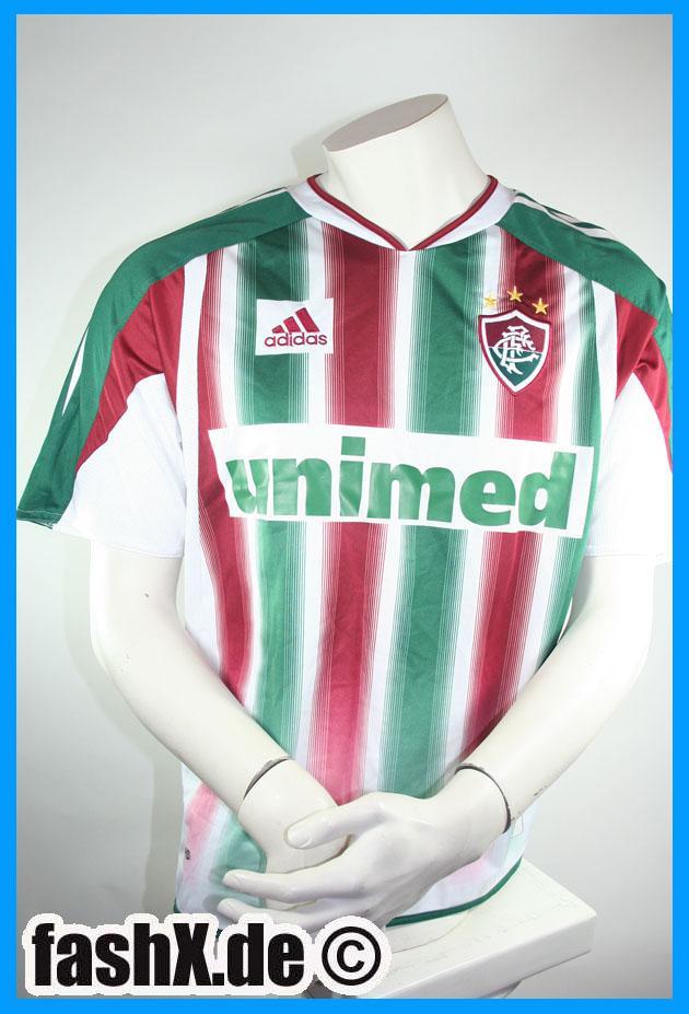 Foto Fluminense Futebol Clube camiseta Adidas talla M 2003/04 10 Romario