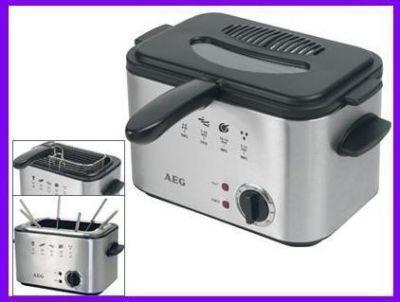 Foto Freidora 1,2 Litros Electrica Acero Y Fondue  Profesional