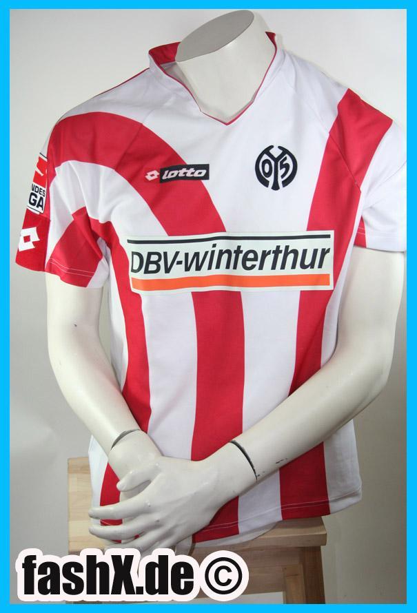 Foto FSV Mainz 05 Lotto camiseta 25 Zidan talla M Signature 2006 / 07