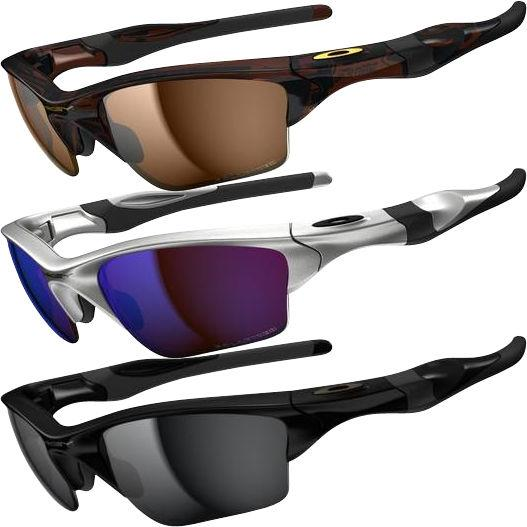 Foto Gafas de sol con lentes polarizadas Oakley - Half Jacket 2.0 XL Silver