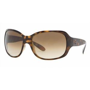 Foto Gafas de sol Rayban RB4118 710/51 Frame Light havana Lens brown gradient 62 mm