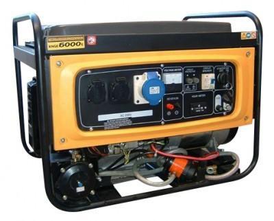 Foto Generador Kipor de Gas 5,5 kVA