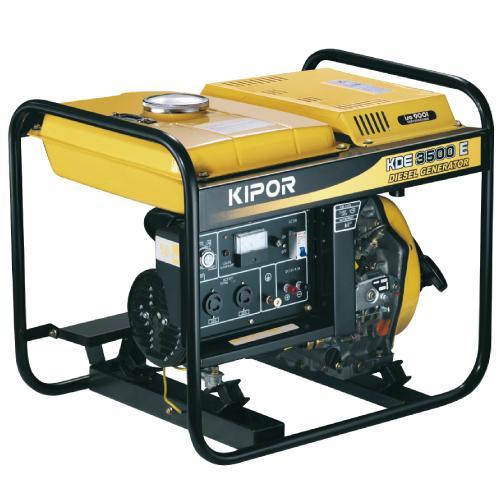 Foto Generador Kipor Diesel 3200w arranque eléctrico