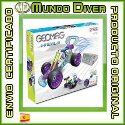 Foto Geomag Wheels Race 29 Piezas Giochi Preciosi - Nuevo Y Precintado - 601048