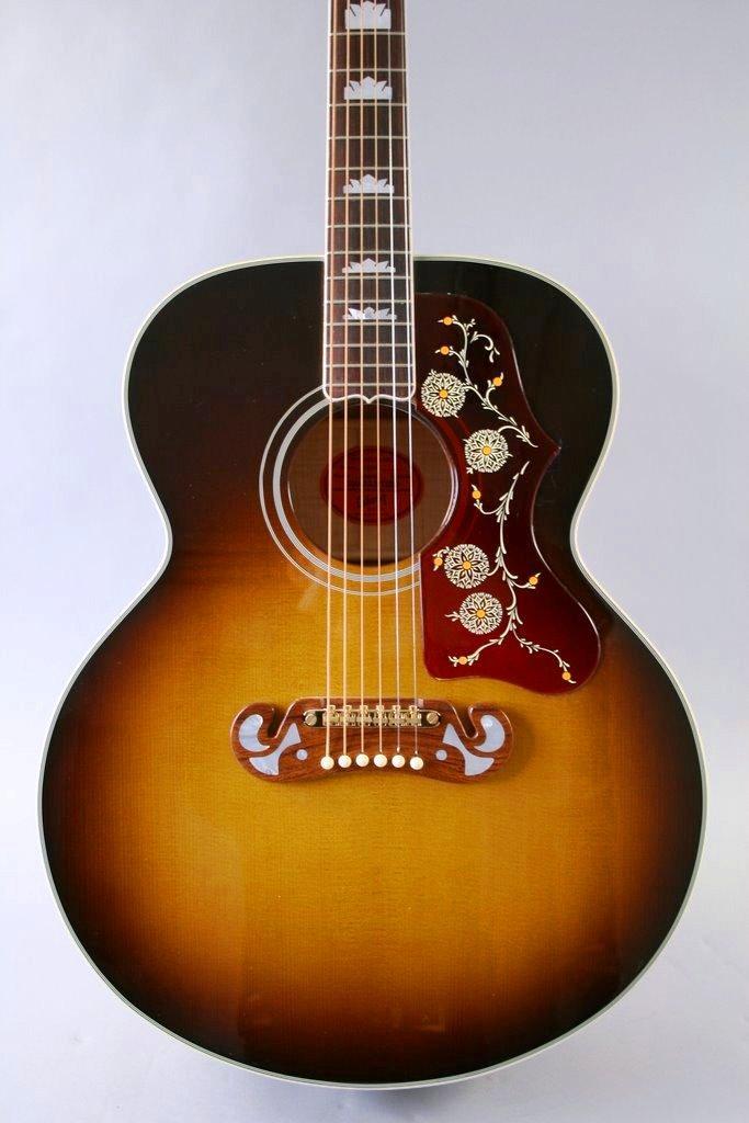 Foto Gibson J-200 1960'S Vintage Sunburst Guitarra Acustica