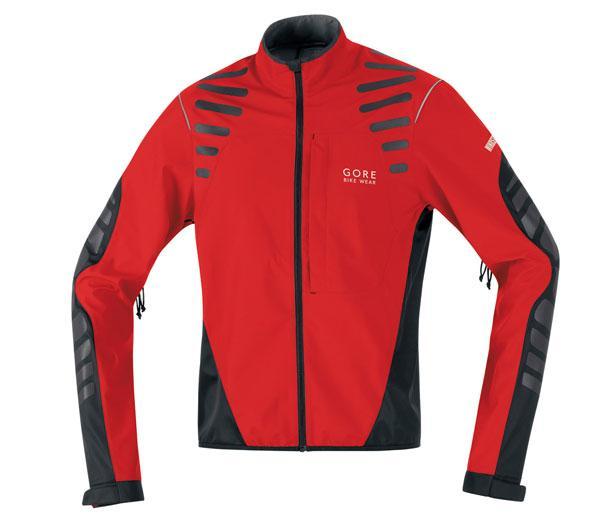 Foto Gore Bike Wear Fusion As Cross Jacket Red/black