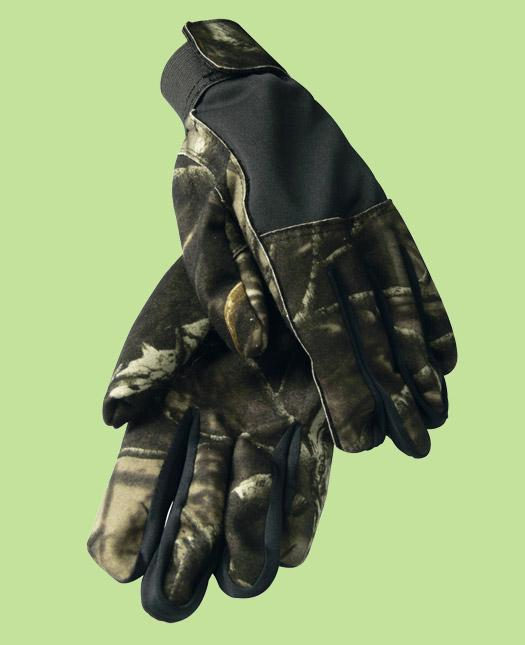 Foto Guantes caza impermeables camo
