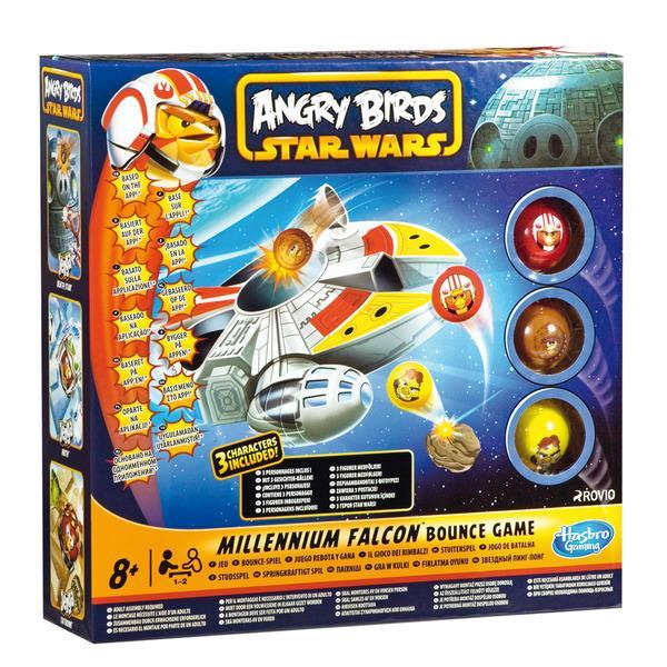 Foto Halcón Milenario Angry Brids Star Wars Hasbro