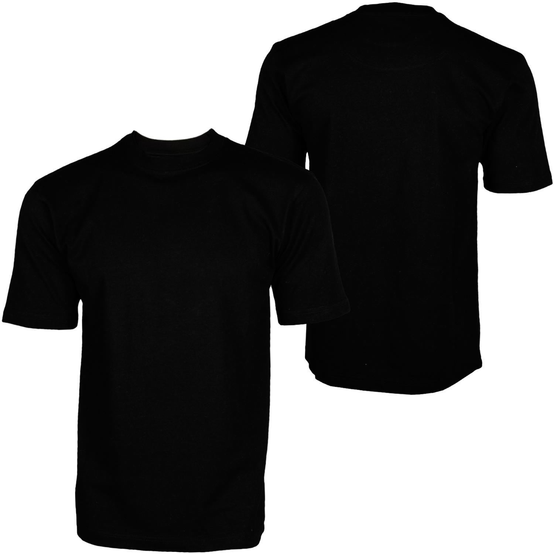 Foto Hoodboyz Basic Blank Camisetas Altas Negro